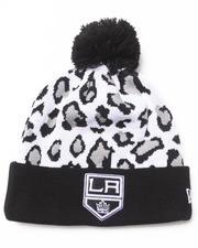 New Era - Los Angeles Kings Team Snow Leopard Knit Hat