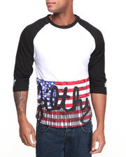 Men - Filthy Flag Raglan
