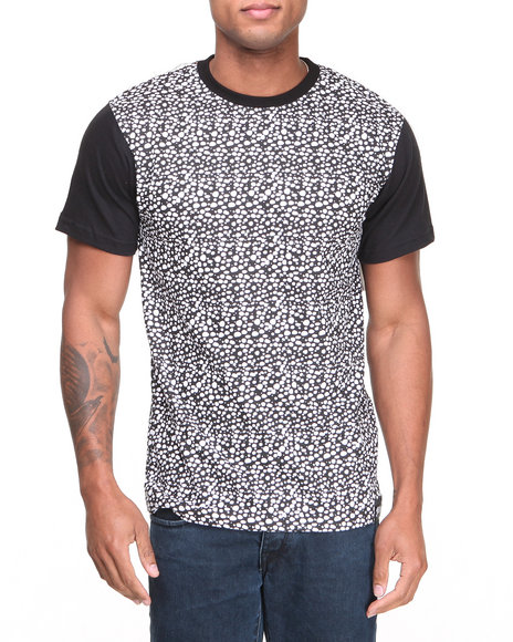Filthy Dripped - Men Black Safari Printed T-Shirt