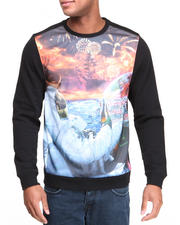Akademiks - Shepard Crewneck Sublimation Sweatshirt