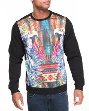 Akademiks - Warrior Crewneck Sublimation Sweatshirt