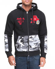 Hoodies - Incog Chenille full zip fleece hoodie