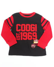 Boys - L/S THERMAL VARSITY TOP (4-7)