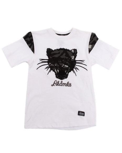 Akademiks - Boys White Leopard Tee (4-7)