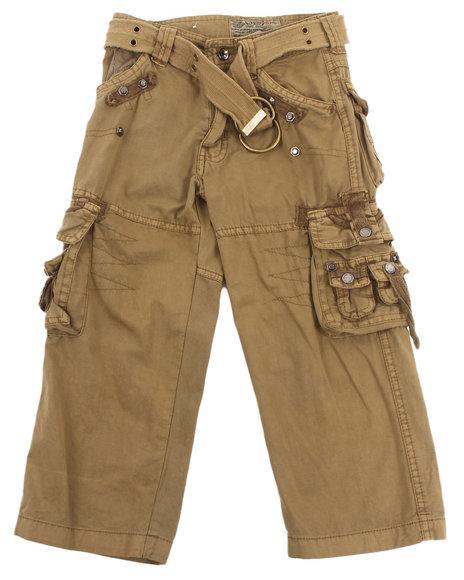 Arcade Styles - Boys Khaki Jetlag Cargo Pants (4-7) - $14.99
