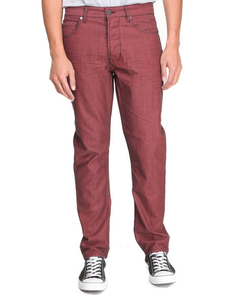 Syn Jeans - Men Red Bleeker Denim Jeans