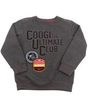 Boys - L/S ULTIMATE FLEECE SWEATSHIRT (4-7)