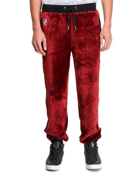 Post Game Maroon Skins Velour Sweatpants