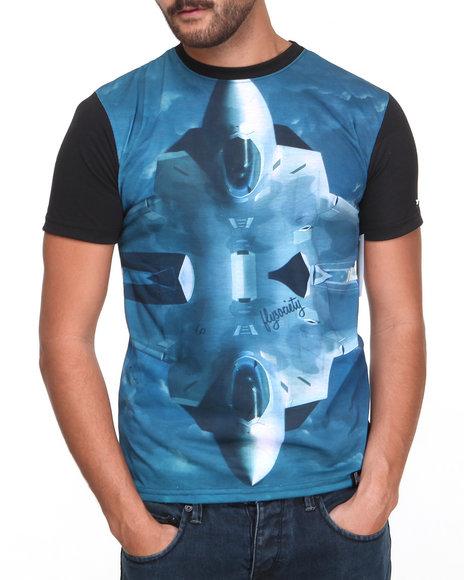 Flysociety Black Flyvency T-Shirt
