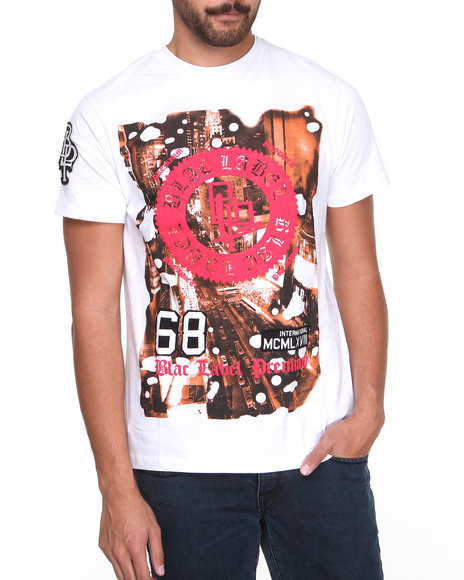Blac Label White City Scape S/S Tee (Big & Tall)