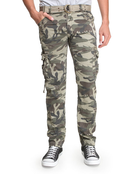 Basic Essentials Camo Belts