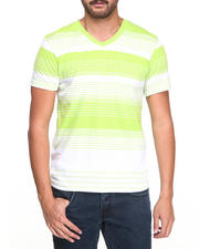 Shirts - Engineered Stripe Short Sleeve Tee