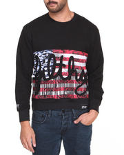 Filthy Dripped - Filthy Flag Crew Sweater