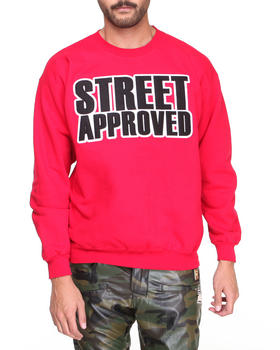 Buyers Picks - Street Approved Applique Patch Sweatshirt