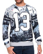 Pullover Sweatshirts - Brooklyn Sublimated Crewneck Sweatshirt