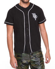 Blac Label - B L P Baseball Jersey Button-Down