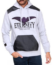 Men - Eternity P U - Trimmed Hoodie