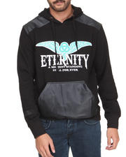 Black Friday Deals - Eternity P U - Trimmed Hoodie