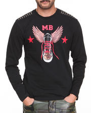 Pelle Pelle by Marc Buchanan - MB Studded Bullet Shoe Tee