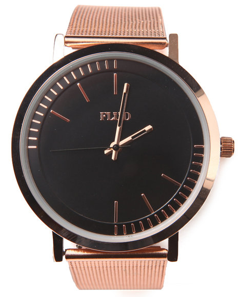 Flud Watches Men The Stunt Watch Rose Gold 1SZ