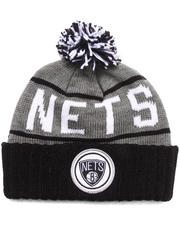 Mitchell & Ness - Brooklyn Nets NBA HWC / Current High 5 Cuffed Knit Hat