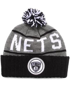 Mitchell & Ness - Brooklyn Nets NBA HWC / Current High 5 Cuffed Knit Hat