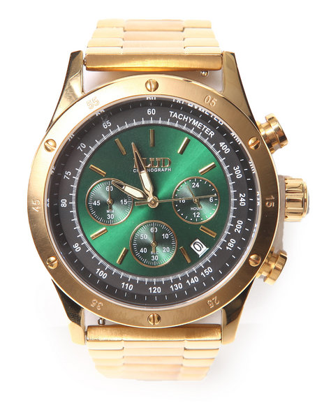 Flud Watches Men The Frost Watch Gold 1SZ