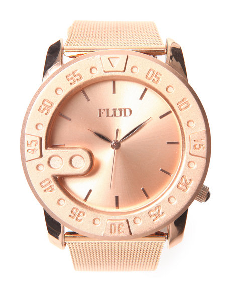 Flud Watches Men The Transfer Watch Rose Gold 1SZ