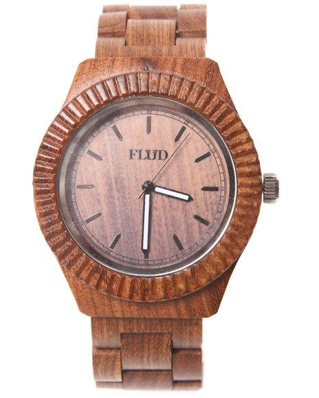 Flud Watches Men The Jax Watch Brown