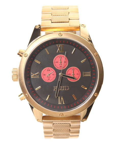 Flud Watches Men The Order Watch Gold 1SZ