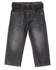 Boys - BELTED ROLODEX JEANS (2T-4T)