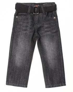 Akademiks - BELTED ROLODEX JEANS (2T-4T)
