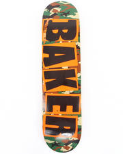 "The Skate Shop - Brand Logo Camo 7.75"" Deck"