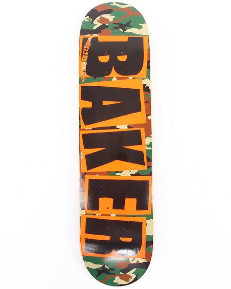 Baker Brand Logo Camo 7.75
