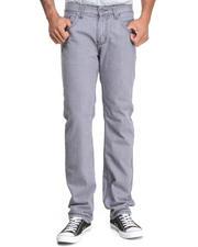 Basic Essentials - Titanium Washed Bleach Denim Jeans