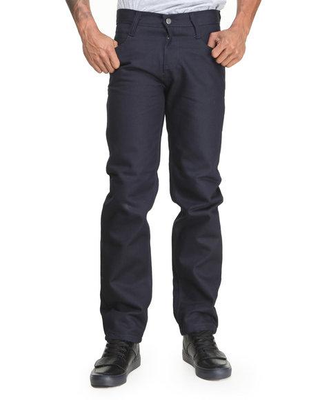 Basic Essentials Dark Wash Colored Raw Denim Jeans