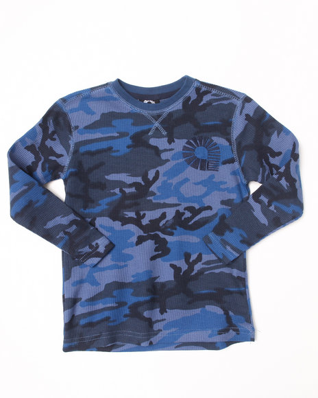 Akademiks - Boys Blue,Camo Camo Thermal (4-7)