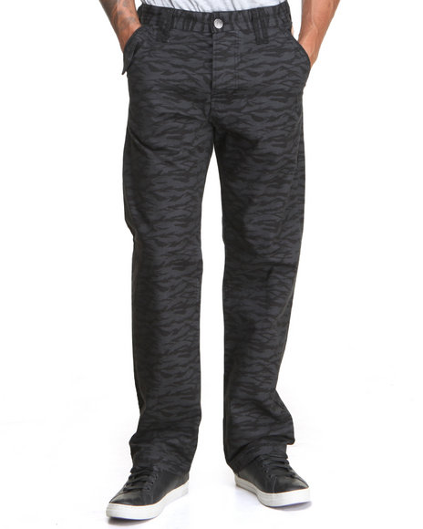 Parish Black Sloth Bear Pants