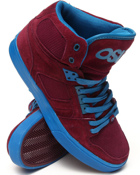 Osiris - Men Maroon Nyc83 Vlc Sneakers - $47.99