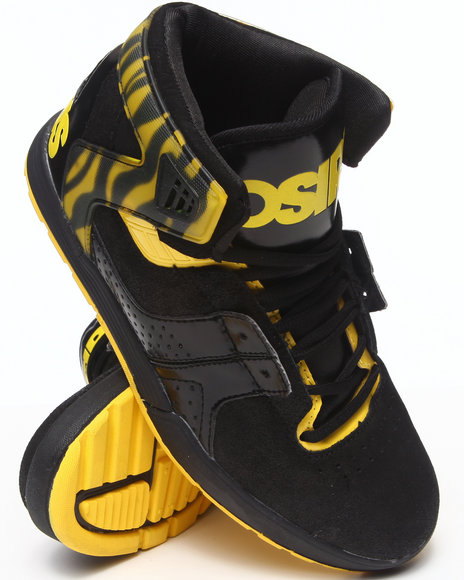 The Skate Shop Yellow,Black L2 Sneakers