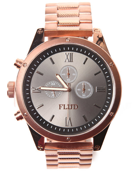 Flud Watches Men The Order Watch Rose Gold 1SZ