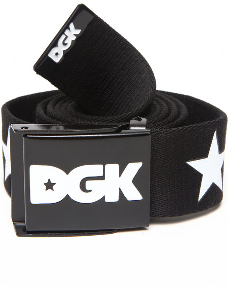 Dgk Shooter Scout Belt Black