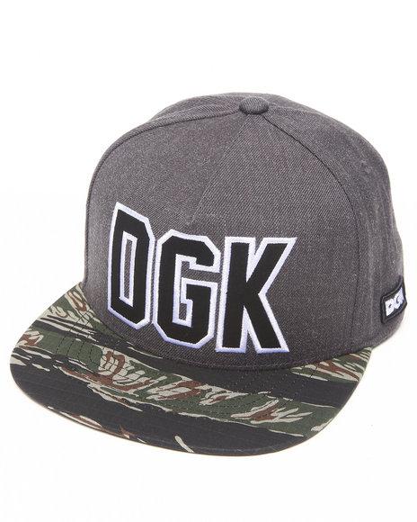 Dgk Rough Snapback Cap Camo