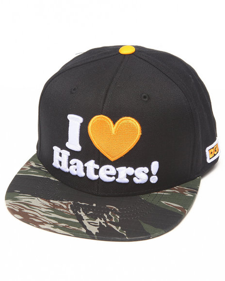 Dgk Haters Snapback Cap Black