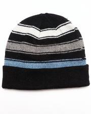 DRJ Accessories Shoppe - Ragwool Knit Cuff Beanie w/Stripes