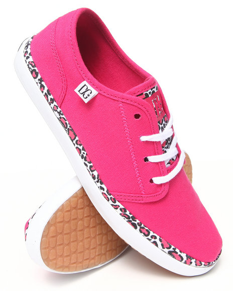 DC Shoes Red Womens Studio Ltz Sneakers