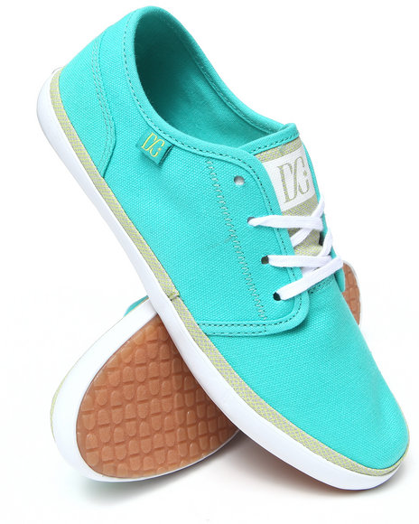 DC Shoes Green Womens Studio Ltz Sneakers