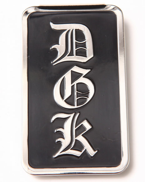 Dgk Dime Money Clip Black