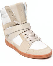 Women - Womens Mirage Mid Wedge Sneakers