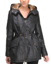 Steve Madden - Penn Anorak W/Vegan Leather Sleeves